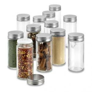 China Glass Round Shaker Spice Jar on sale