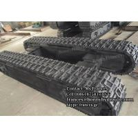 Custom built steel crawler track undercarriage