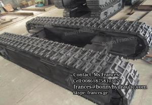 China Custom built steel crawler track undercarriage on sale