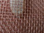Long service life Copper Mesh Cloth for Shielding or Filtering with pure copper proportion 99.9% (2 to 200 mesh/inch)