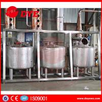 Stainless Steel Home Distillery Equipment With Copper Distilling Colums