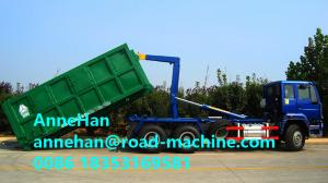 China SINOTRUK 30T Hork Arm Garbage Truck Collection Trash Compactor Truck Euro2 336hp 10Tires on sale