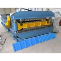 High precision Colored Glaze metal building roofing panel roll forming machine