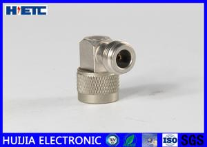 China N Type Male To Female R/A RF Connector Adapter With Brass Body Gold Plated on sale