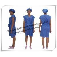 Disposable Surgical Gowns Non - woven Hospital Nursing Uniform Patient Protection