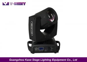 China 16 Or 24 Prism Stage Moving Head Lights , DJ Light Moving Head With LCD Display on sale