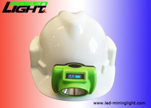 China ABS PC Material Coal Mining Lights , Led Mining Cap Lamp 6.8Ah Battery 3.7v on sale