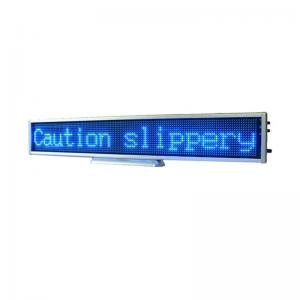 China Multi Color Scrolling LED Message Display Board For Conventions B16128AB on sale