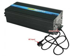 China LED display Solar Power Inverter 3KW , DC AC Charger Inverter with Charger on sale