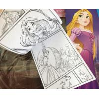 Cartoon Coloring Book Printing , Softcover Paperback Book Printing Spot UV