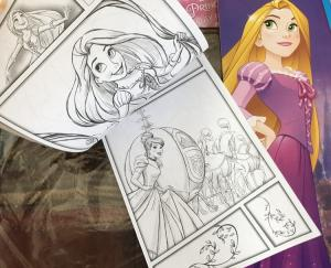 China Cartoon Coloring Book Printing , Softcover Paperback Book Printing Spot UV on sale