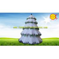 China Advertising Holiday Inflatables Christmas Tree , Festival  Spruce Tree Decorations on sale