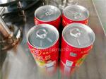 Pop Top Beverage Can Filling Machine / Can Seamer Line CE And ISO Passed