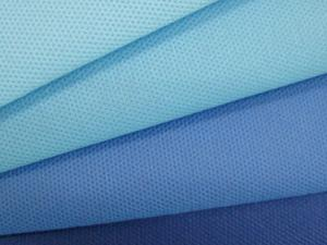 China High Grade 100% Disposable Non Woven Fabric For Medical Use?Blue Color on sale