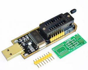 CH341A 24 25 series EEPROM Flash Bios USB programmer +SOIC8 150 mil