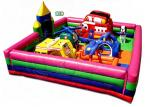 20 Kids Capacity Inflatable Bounce House Combo With Rescue Worker Theme