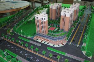 China 3D House Scale Model With Landscape, architectural model making on sale