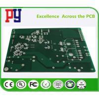 Green Solder Mask Rigid Flex PCB Fr4 Rogers Circuit Board 6 Layers UL ROHS Approval