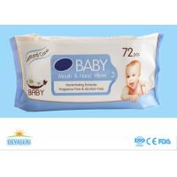 Pearl Nonwoven Disposable Wet Wipes Skin Care , Super Soft Atural Organic Baby Wipes