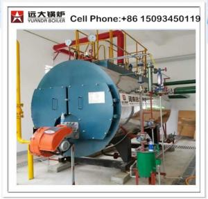 China China Industrial 100 psi 250 bhp diesel fired steam boiler prices on sale