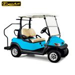 Bule Color Two - Seaters Electric Car Golf Cart With Rear Caddie Step