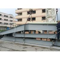 Light Prefab Steel Structure Hotel Fashionable Easy Assemble Painted Surface