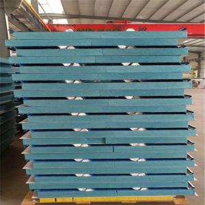 China 32kg waterproof XPS sandwich roof panels 1050-50-0.376mm for prefabricated buildings on sale