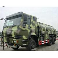 China 6x6 All Wheel Drive Fuel Oil Delivery Truck , Propane Tank Truck 20cbm Capacity on sale