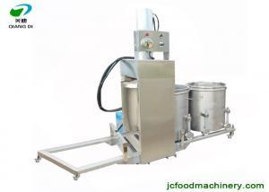 China industrial big scale fruits juice making machine with hydraulic pressure/beverage making machine on sale