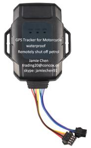 China GPS tracker bike long standby time GT100 for motorcycle on sale