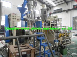 China PE Stretch Film Making Machine , Transparent / Black Stretch Film Machinery on sale