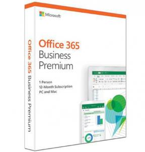 China 1 User Microsoft Office 365 Business Premium , Office 365 Licence 1 Year Lifetime Key on sale