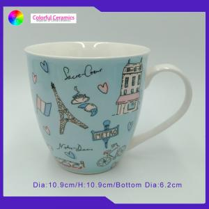China Novelty Porcelain Large Fine Bone China Mugs For Individual Customer on sale