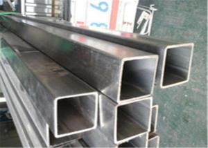 China Polished Finish Stainless Steel Square Pipe , 321 Stainless Steel Tubing Hollow Type on sale