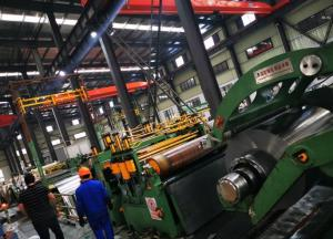 China Full Automatic Steel Strips Sheet Metal Slitter / Slitting Line Machine on sale