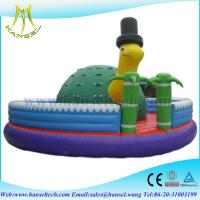 Hansel PVC inflatable jumper castcle games inflatable bouncy castle