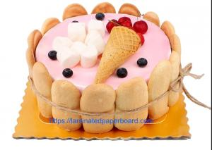 China Cake Board Food Grade With Aluminium Foil  Paper For Food Packaging on sale