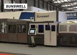 China Sunswell 3 In 1 Blowing Filling Capping Combiblock For  PET Bottles Water on sale