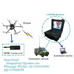 China COFDM AHD 720P digital video transmitter for FPV on UAV on sale
