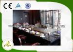 Teppanyaki comercial/residencial grelha a tabela com sistema da exaustão & do purificador