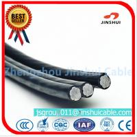2 * 25 Duplex Underground Aluminum Cable , 2 Aluminum Wire XLPE Insulated Cable