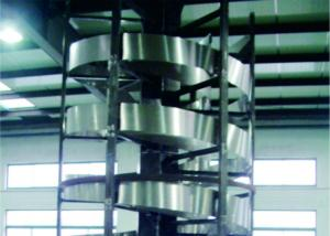 China Flexible Industrial Conveyor Belt SystemsVertical Screw - Lift Strong Structure on sale