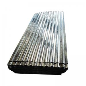 China SGCC, G550, JIS G3302 Steel Regular Spangle Galvanized Sheet Metal Roofing on sale