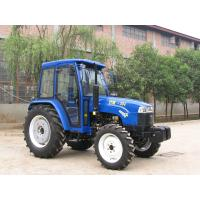 Small Agriculture Four Wheel Drive 50 Hp Tractor 4wd Red / Blue CE ROHS