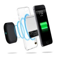 Fast Wireless Charger QI Ultra Slim Wireless Charging Pad 5V 2A 10W Quick Charge for iPhone