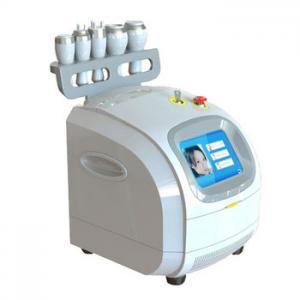 China Vacuum Ultrasonic Liposuction Cavitation Machine With Monopolar / Tripolar RF Head on sale