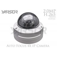 Network 4X Auto Zoom Security Camera / 2 Megapixel Dome Camera With IR Cut