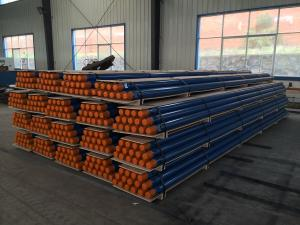 China T51 89mm 102mm 115mm 127mm top hammer drilling rod/core pipe/triple tube core barrel on sale