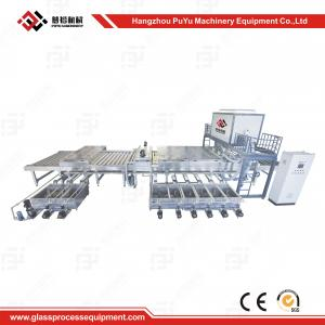 China High Speed Glass Washing Equipment With Rockwell PLC Control on sale