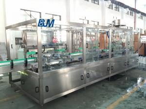 China 1000BPH Automatic Water Filling Machine For 10 Liter Round PET Bottle on sale